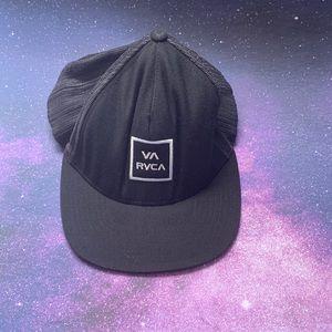 RVCA by PM Tenore- VA RVCA Black Baseball Cap